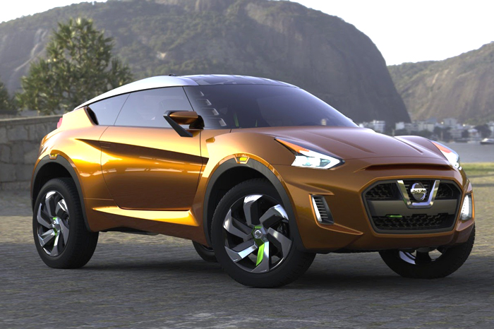 Nissan showcases compact-SUV concept